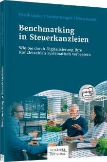 Patrik Luzius: Digitalisierung und Benchmarking in Steuerkanzleien, Buch