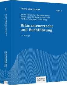 Harald Horschitz: Bilanzsteuerrecht und Buchführung, Buch