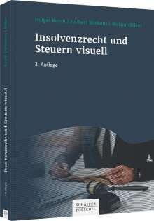 Holger Busch: Insolvenzrecht und Steuern visuell, Buch