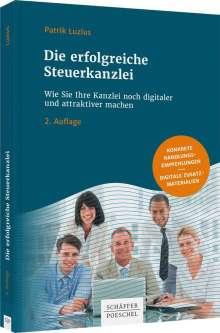 Patrik Luzius: Die erfolgreiche Steuerkanzlei, Buch