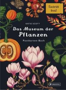 Katie Scott: Das Museum der Pflanzen. Postkartenbuch, Buch