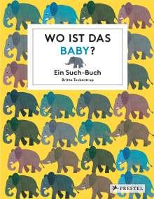Britta Teckentrup: Wo ist das Baby?, Buch
