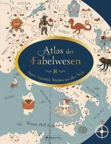 Sandra Lawrence: Atlas der Fabelwesen, Buch
