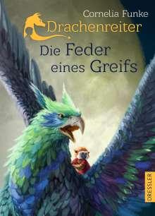 Cornelia Funke: Drachenreiter - Die Feder eines Greifs, Buch