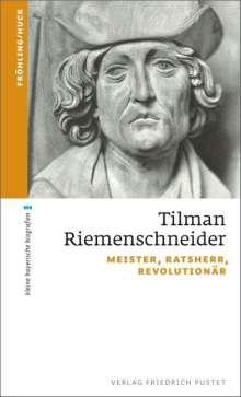 Stefan Fröhling: Tilman Riemenschneider, Buch