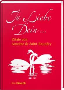 Antoine de Saint-Exupèry: In Liebe Dein, Buch