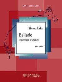 """Ballade """"Hommage à Chopin"""". Klavier., Buch"""