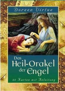 Doreen Virtue: Das Heilorakel der Engel. 44 Orakel-Karten, Diverse