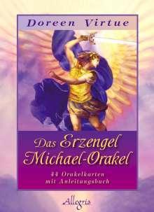 Doreen Virtue: Das Erzengel-Michael Orakel (Kartendeck), Diverse
