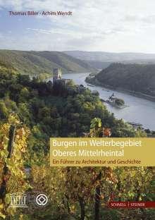 Thomas Biller: Burgen im Welterbegebiet Oberes Mittelrheintal, Buch