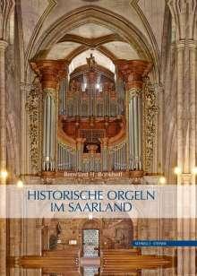 Bernhard Bonkhoff: Historische Orgeln im Saarland, Buch