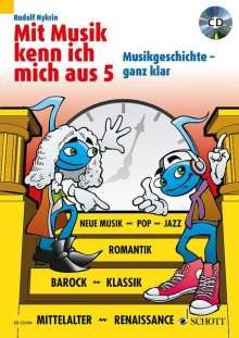 Rudolf Nykrin: Mit Musik kenn ich mich aus Vol.5  (mit CD), Noten