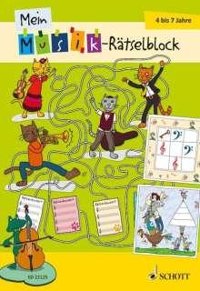 Mein Musik-Rätselblock, Buch