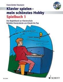 Hans-Günter Heumann: Spielbuch 1. Klavier. Lehrbuch mit CD, Buch