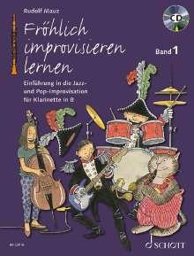 Rudolf Mauz: Fröhlich improvisieren lernen, Buch