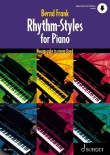 Bernd Frank: Rhythm-Styles for Piano, Buch