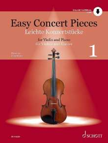 Easy Concert Pieces, Buch