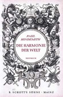 Paul Hindemith: Die Harmonie der Welt, Noten