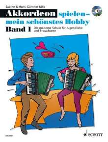 Akkordeon spielen - mein schönstes Hobby 01, Noten