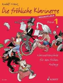 Die fröhliche Klarinette Band 01. Lehrbuch, Noten