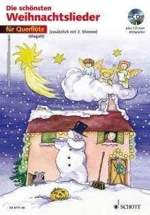 Die schönsten Weihnachtslieder für Querflöte. Mit CD, Noten