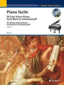 Piano facile, Noten