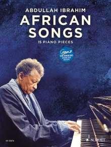 African Songs, für Klavier, Noten