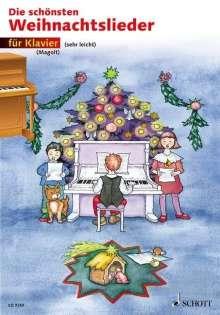 Die schönsten Weihnachtslieder sehr leicht bearbeitet. Klavier., Noten