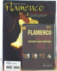 Flamenco Gitarrenschule 2. Mit DVD, Buch