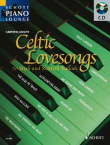 Schott Piano Lounge - Celtic Lovesongs (mit CD), Noten