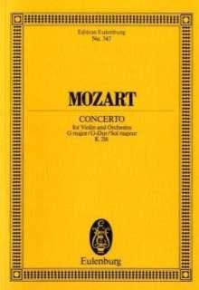 Wolfgang Amadeus Mozart (1756-1791): Violinkonzert Nr.3 G-Dur KV 216, Partitur, Noten