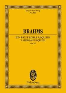 Johannes Brahms: Ein deutsches Requiem, Noten