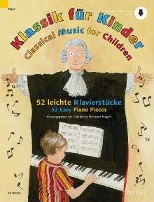 Klassik für Kinder Klavier, Noten