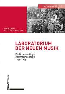 Laboratorium der neuen Musik, Buch