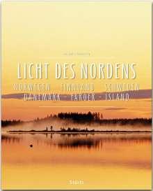 Reinhard Ilg: Licht des Nordens - Norwegen . Finnland . Schweden . Dänemark . Färöer . Island, Buch