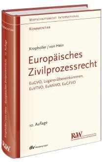 Jan Hein: Europäisches Zivilprozessrecht, Buch
