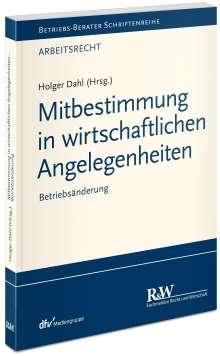 Holger Dahl: Mitbestimmung in sozialen Angelegenheiten, Band 4, Buch