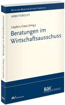 Burkard Göpfert: Beratungen im Wirtschaftsausschuss, Buch