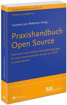 Christian Galetzka: Praxishandbuch Open Source, Buch
