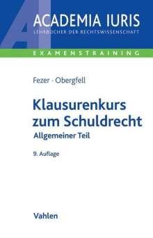 Karl-Heinz Fezer: Klausurenkurs zum Schuldrecht, Buch
