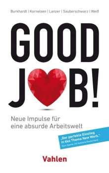Nicolas Burkhardt: Good Job!, Buch