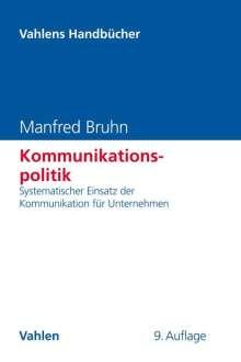 Manfred Bruhn: Kommunikationspolitik, Buch
