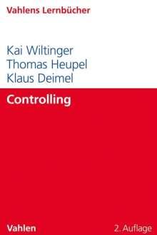 Klaus Deimel: Controlling, Buch
