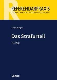 Theo Ziegler: Das Strafurteil, Buch
