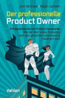 Don McGreal: Der professionelle Product Owner, Buch
