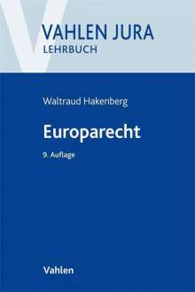 Waltraud Hakenberg: Europarecht, Buch