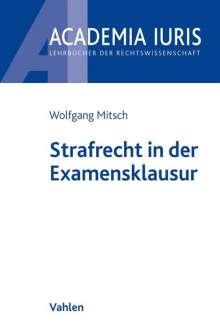 Wolfgang Mitsch: Strafrecht in der Examensklausur, Buch
