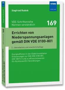 Siegfried Rudnik: Errichten von Niederspannungsanlagen gemäß DIN VDE 0100-801, Buch