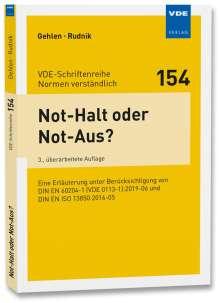 Patrick Gehlen: Not-Halt oder Not-Aus?, Buch