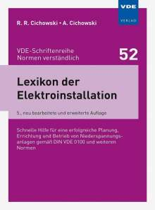 Rolf Rüdiger Cichowski: Lexikon der Elektroinstallation, Buch